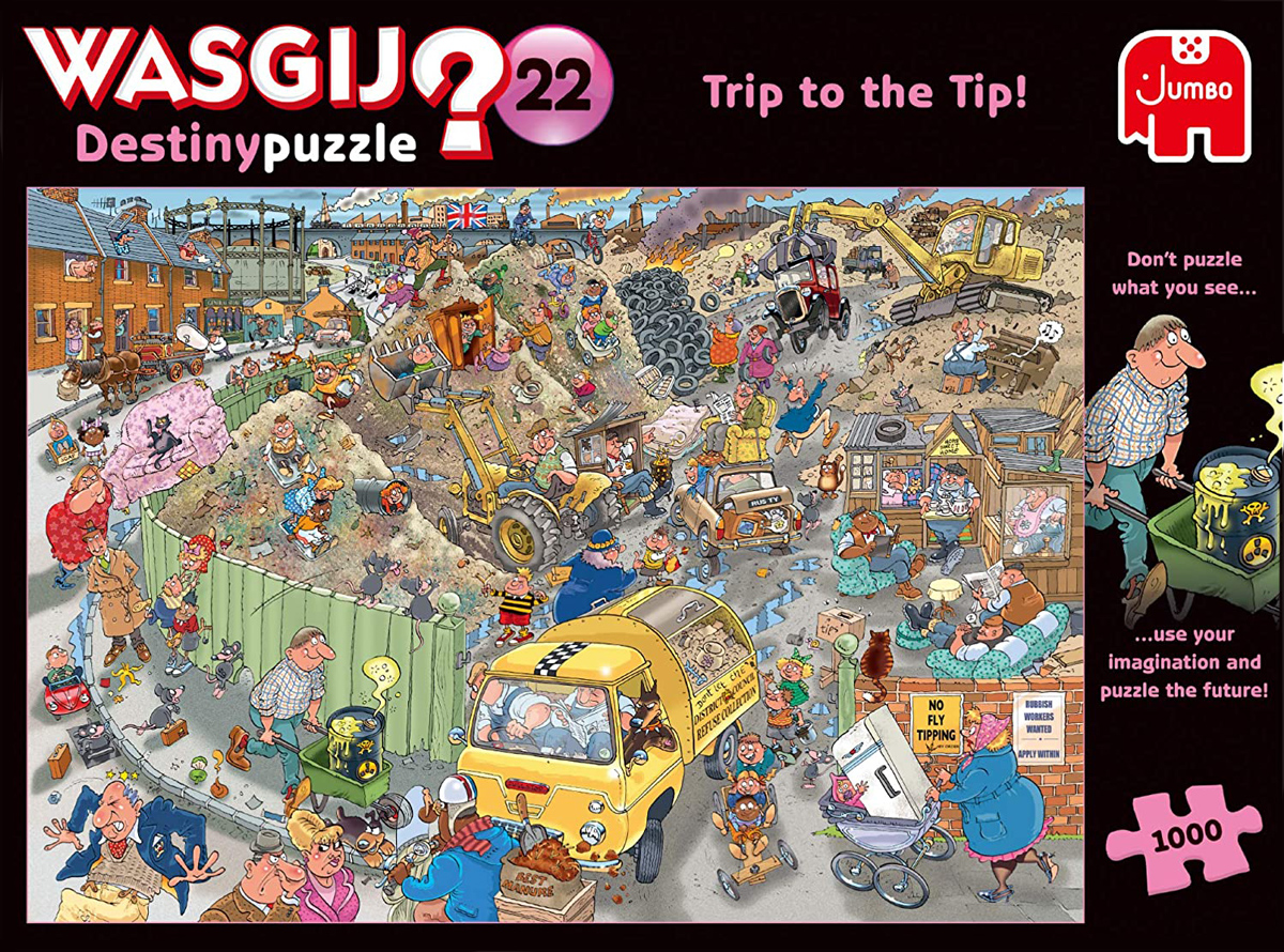 Wasgij Destiny 22: A Trip to the Tip People Jigsaw Puzzle