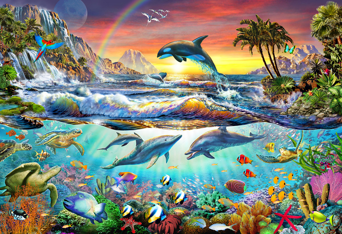 Paradise Cove Under The Sea Jigsaw Puzzle