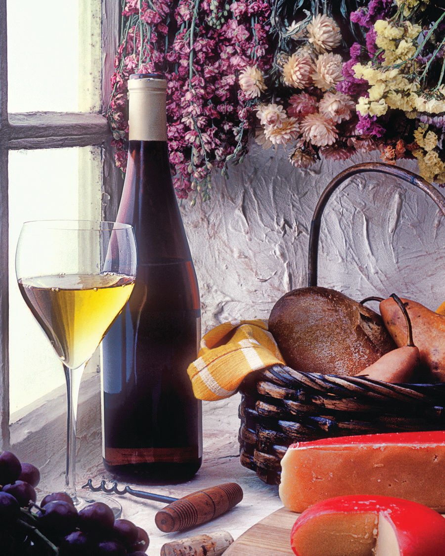 Wine & Cheese Food and Drink Jigsaw Puzzle