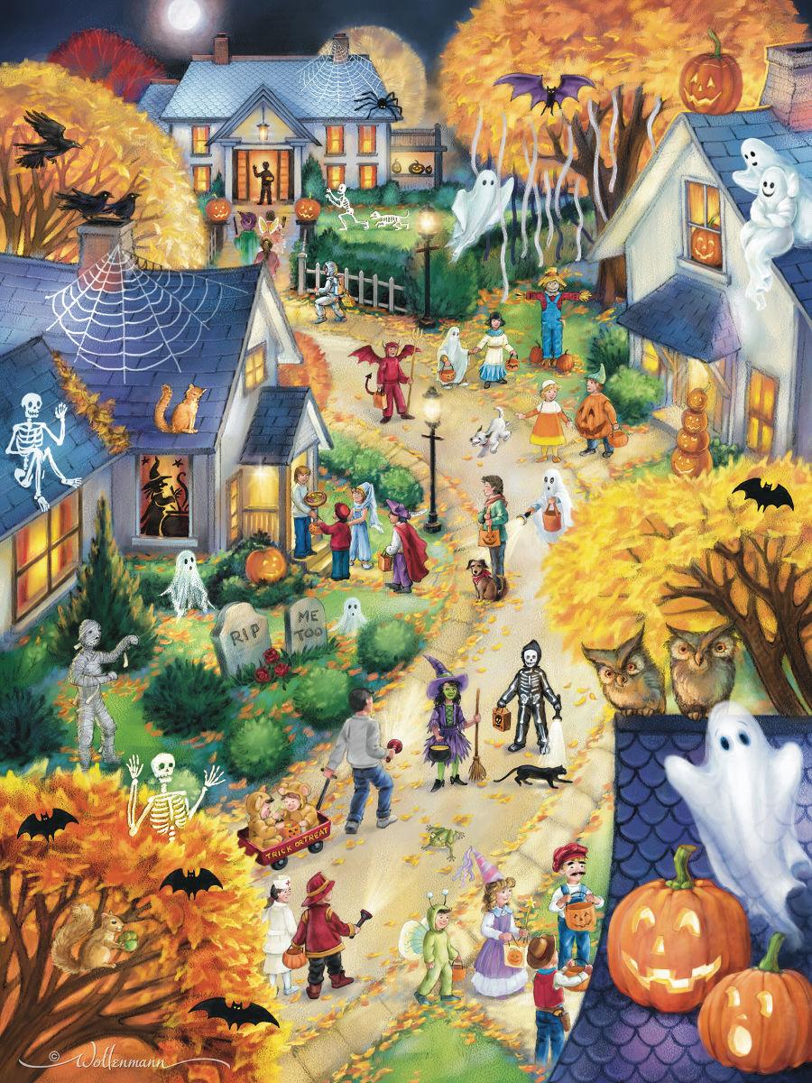 Halloween Town Halloween Jigsaw Puzzle