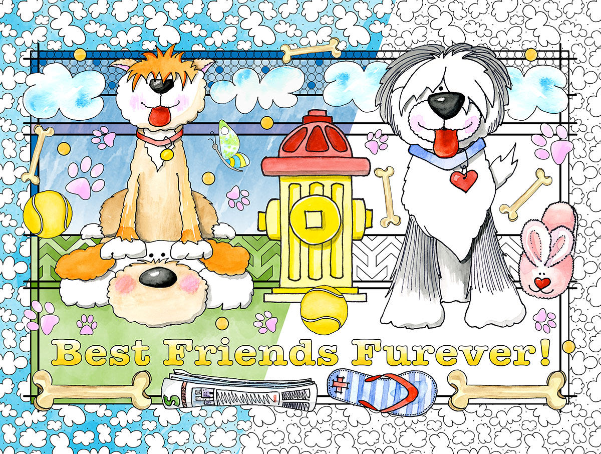 Best Friends Dogs Jigsaw Puzzle