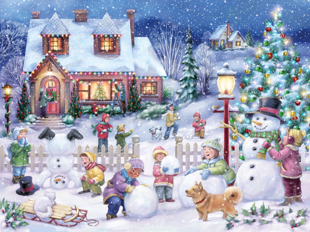 christmas jigsaw puzzles online for adults