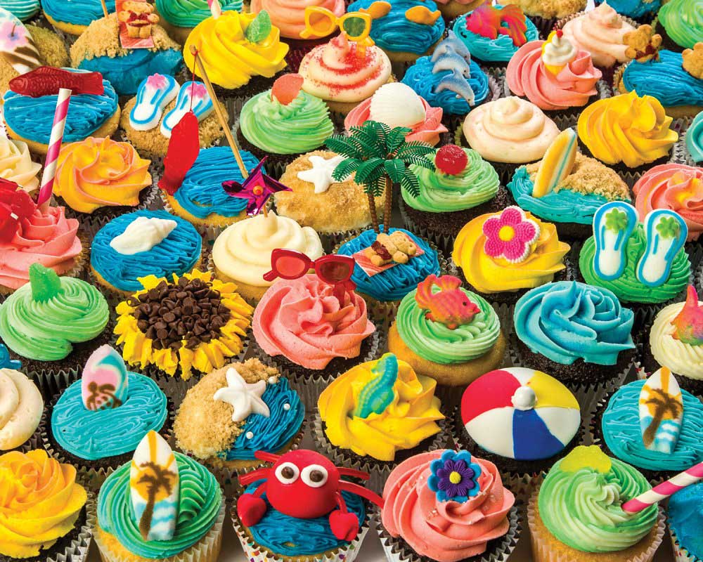 Summer Cupcakes Summer Jigsaw Puzzle