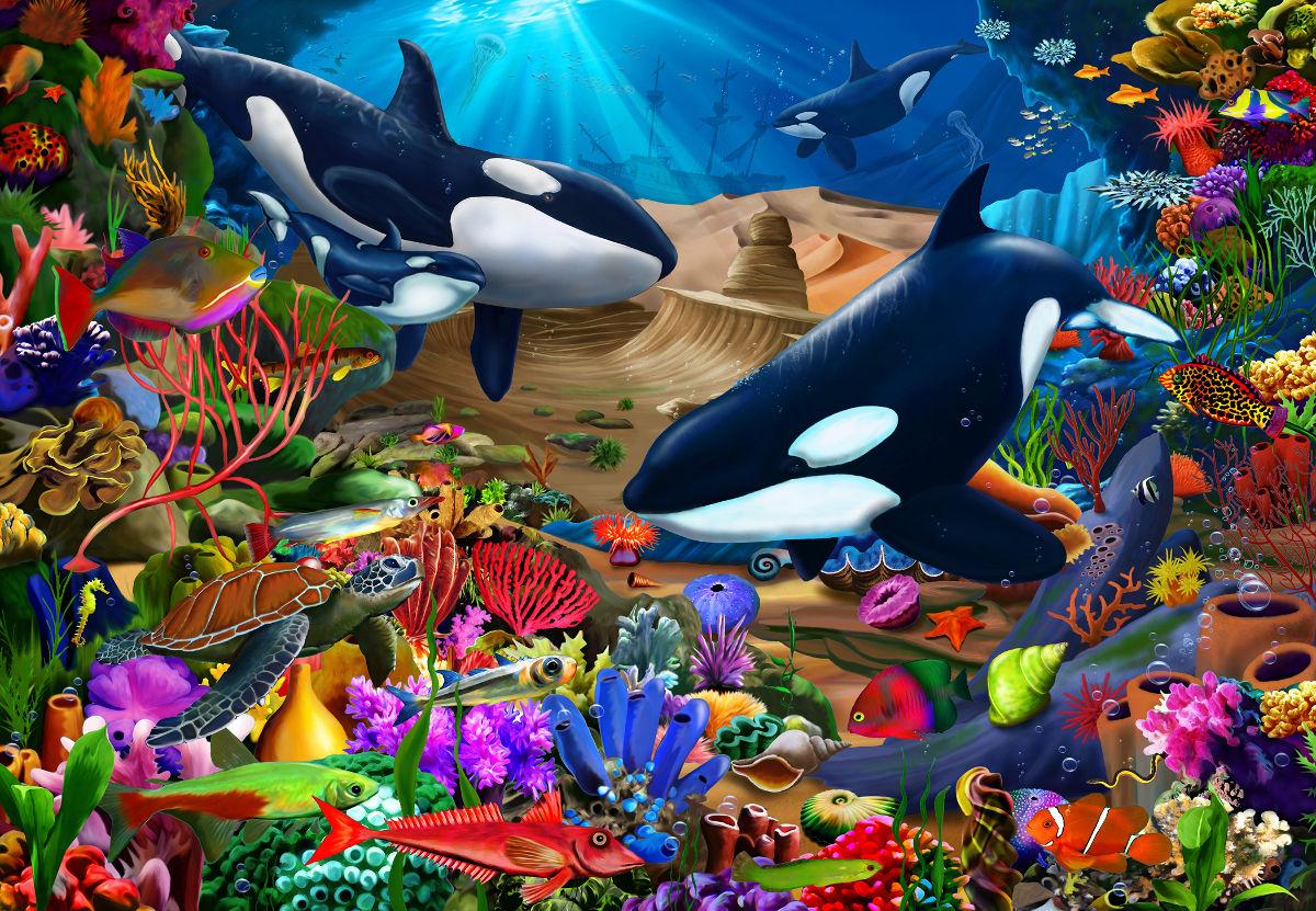 Wondrous Ocean Under The Sea Jigsaw Puzzle