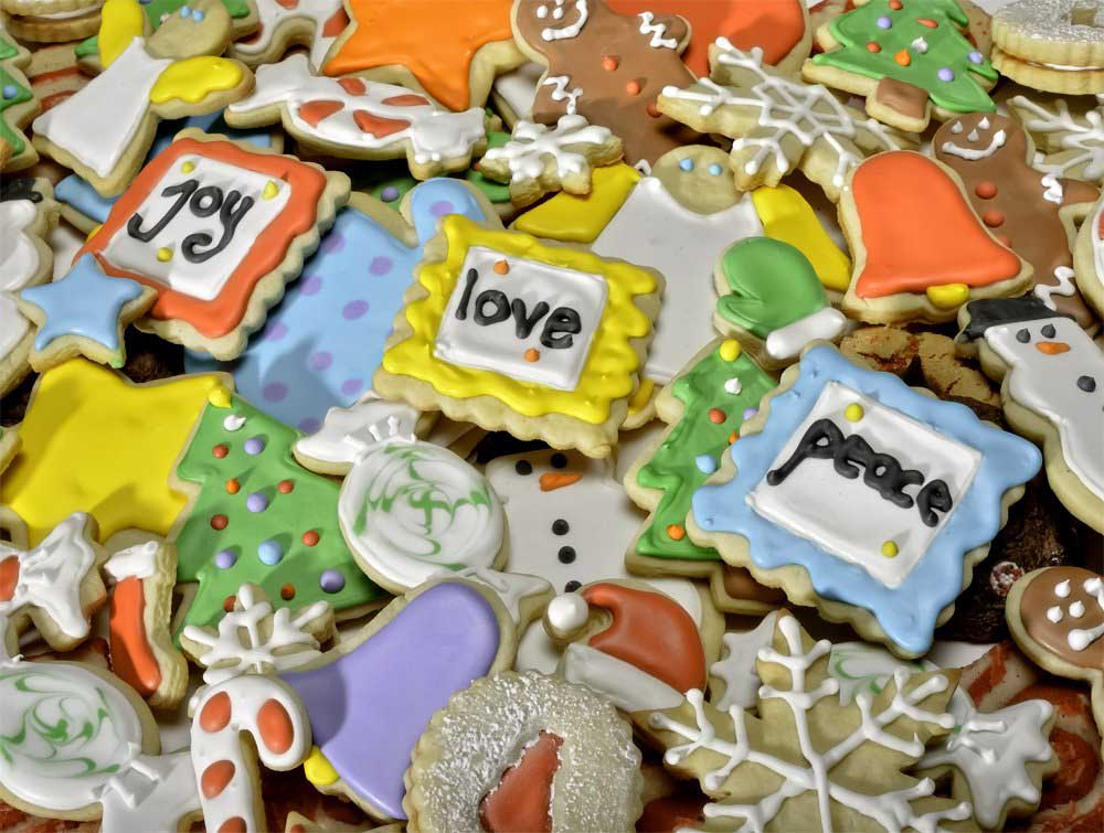 Christmas Cookies Food and Drink Jigsaw Puzzle