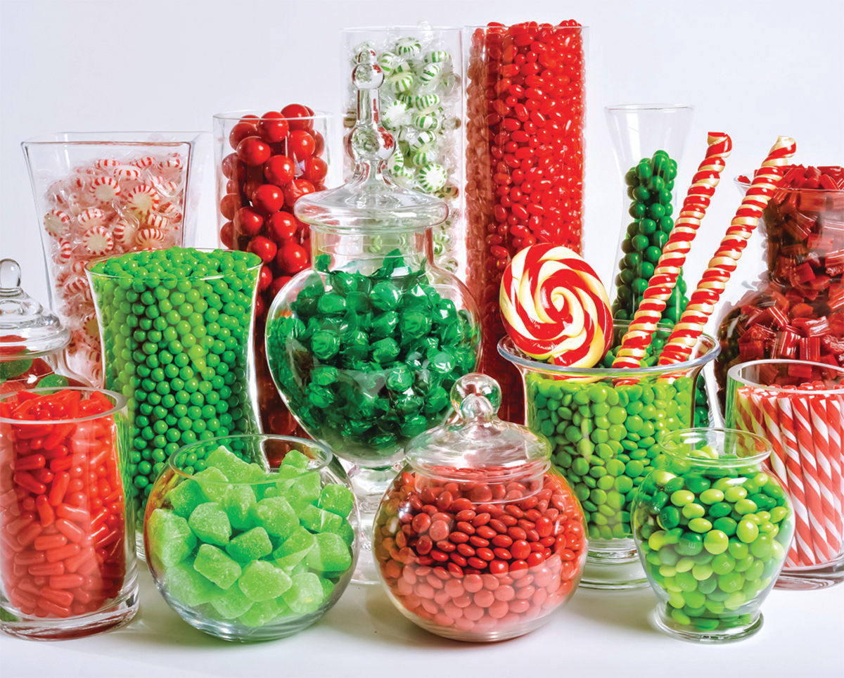 Christmas Candy.Christmas Candy Buffet