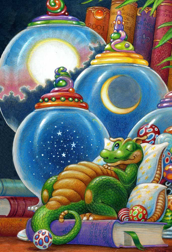 Heavenly Dreams Dragons Jigsaw Puzzle