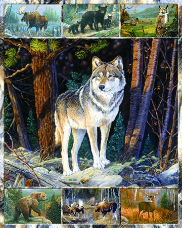 Into The Wild Wildlife Jigsaw Puzzle