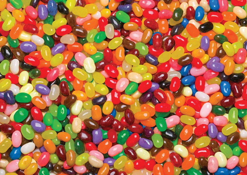 Jelly Beans Food and Drink Jigsaw Puzzle