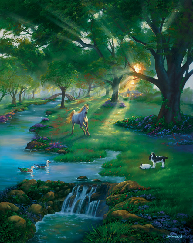 River Life Jigsaw Puzzle