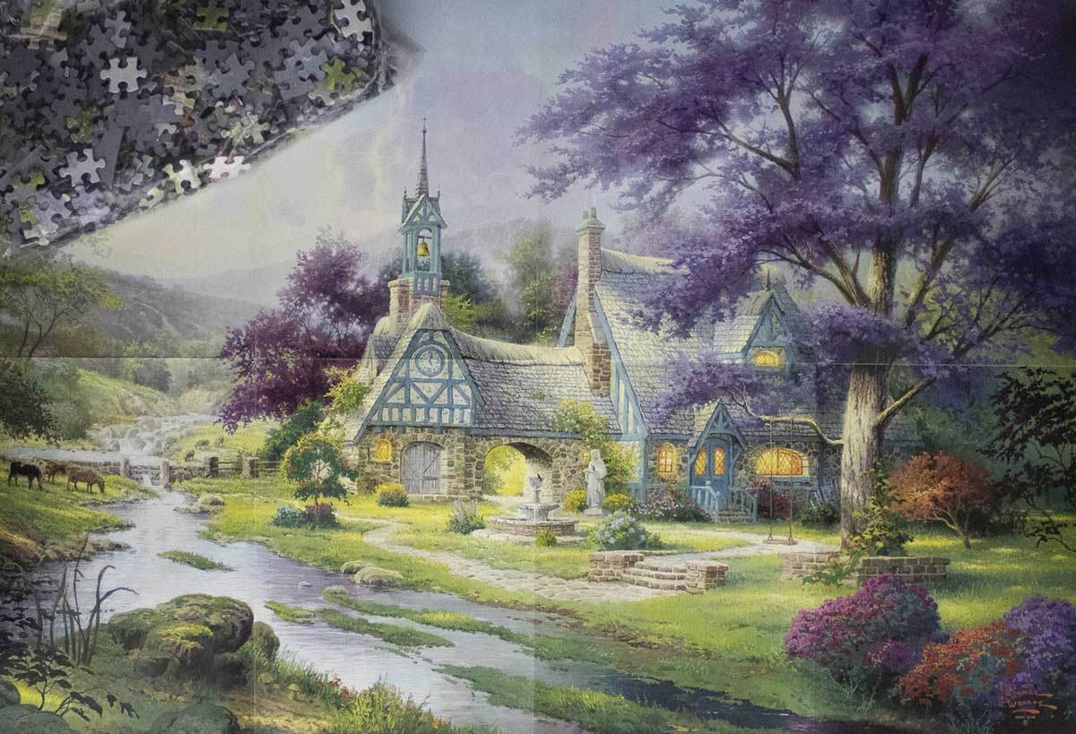 Clocktower Cottage Lakes / Rivers / Streams Jigsaw Puzzle
