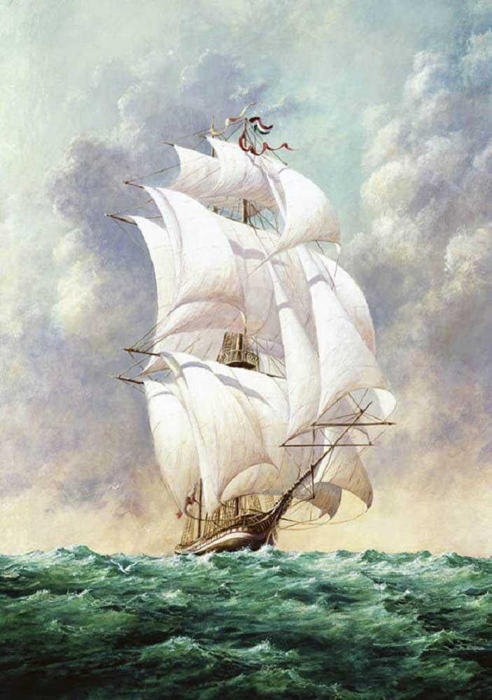 Sailboat 2 Boats Jigsaw Puzzle