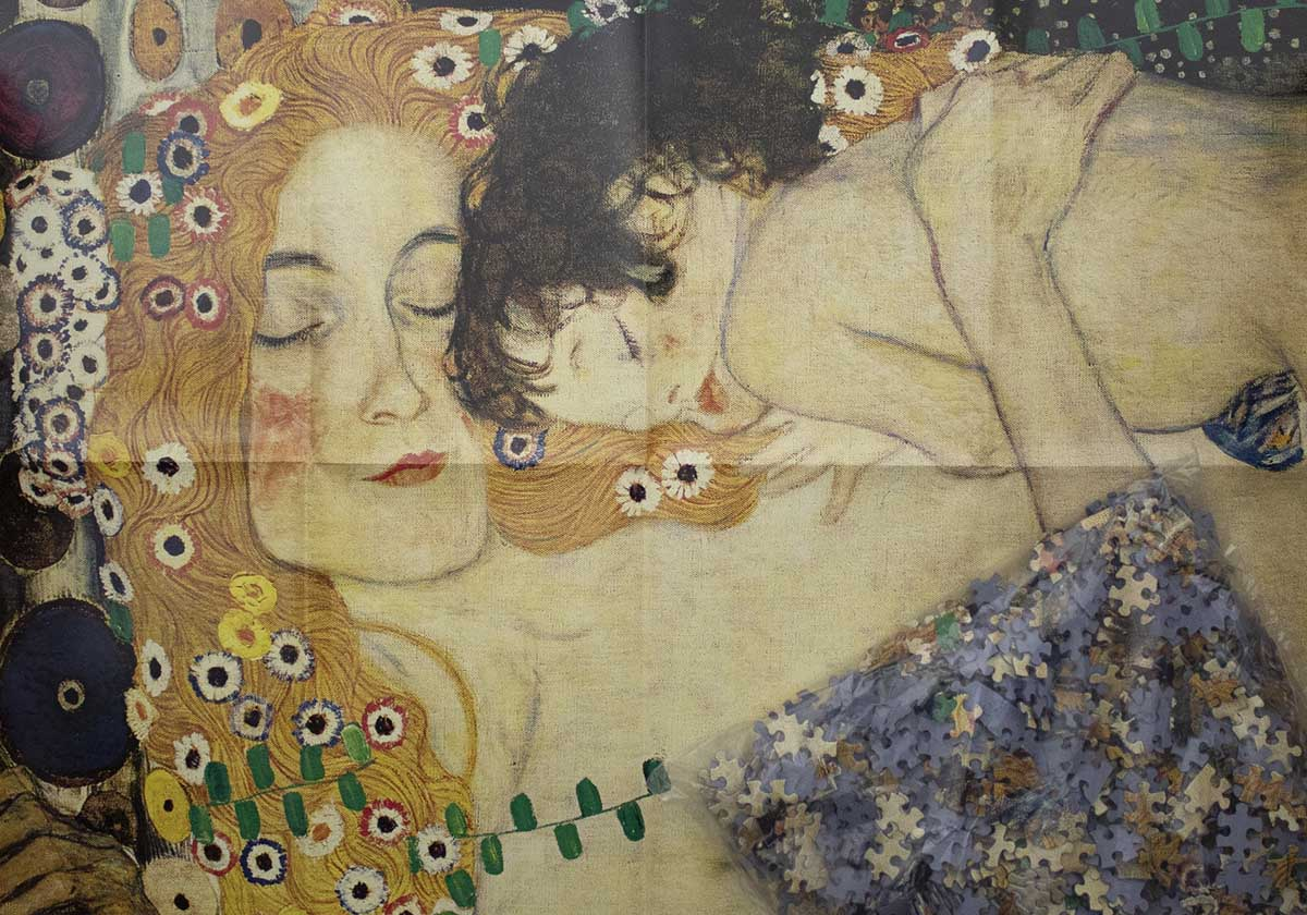 Mother And Baby Fine Art Jigsaw Puzzle