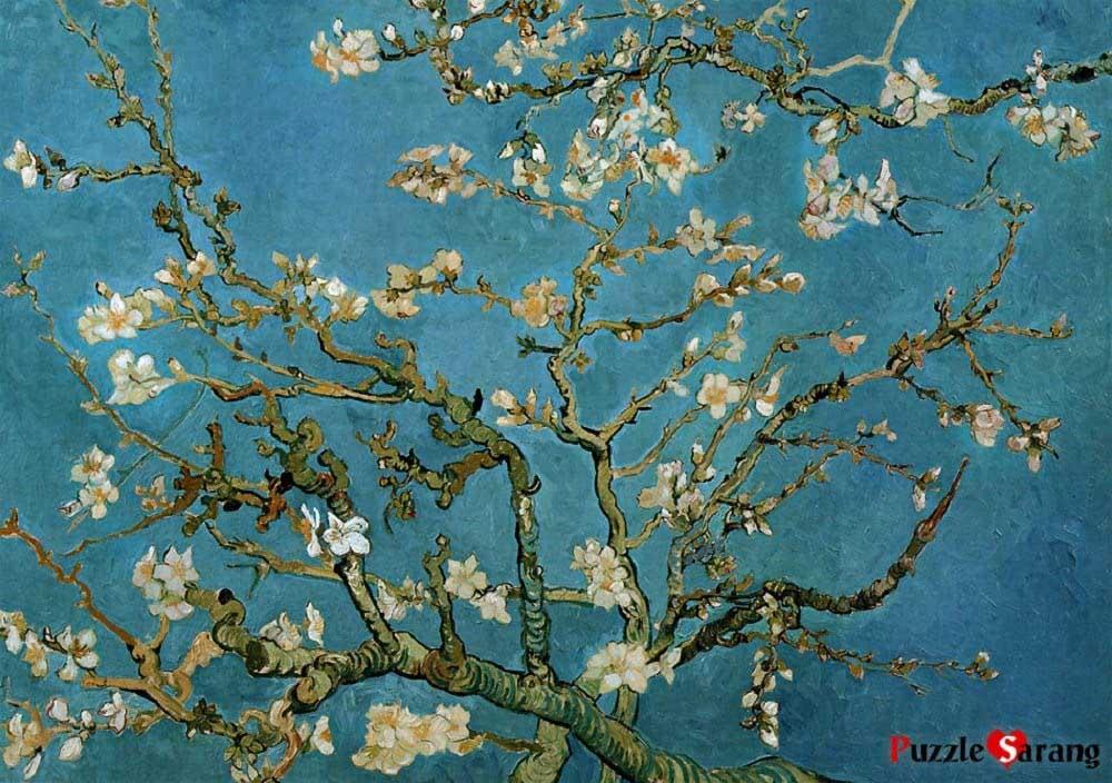 Almond Blossom Fine Art Jigsaw Puzzle