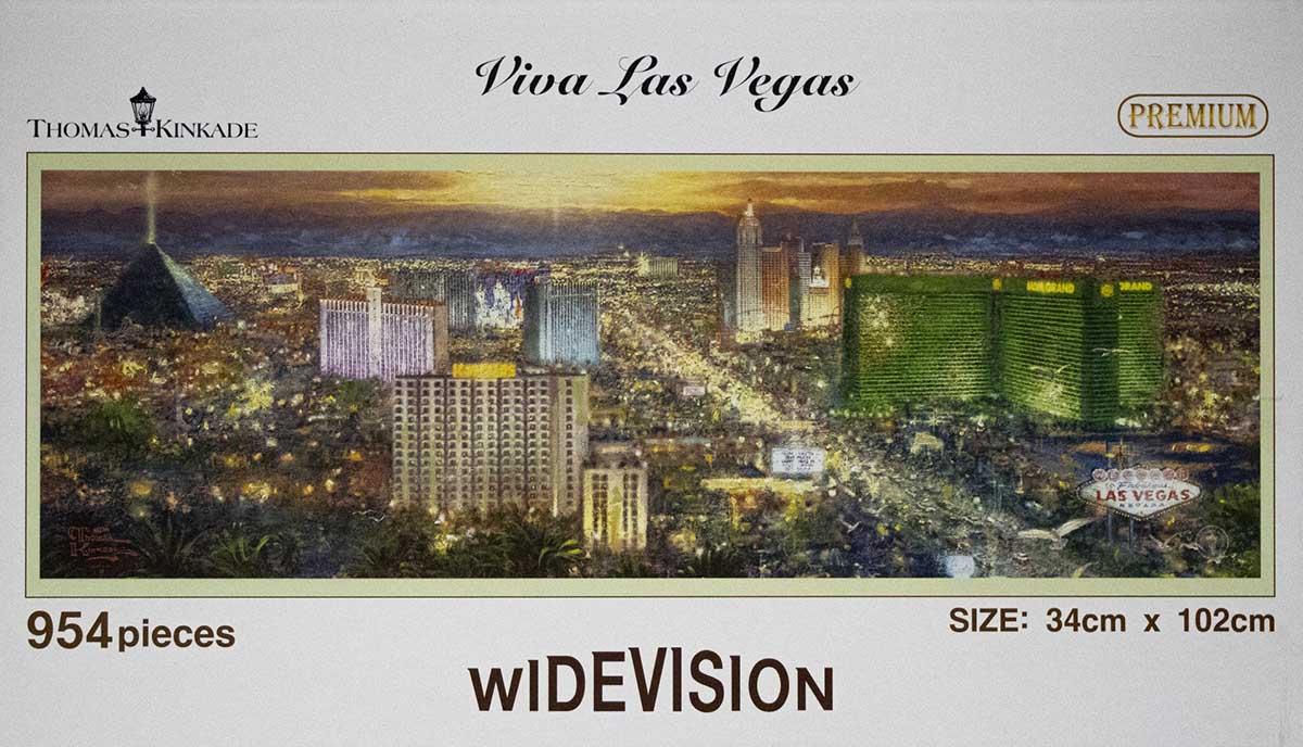 Las Vegas Wide Las Vegas Jigsaw Puzzle