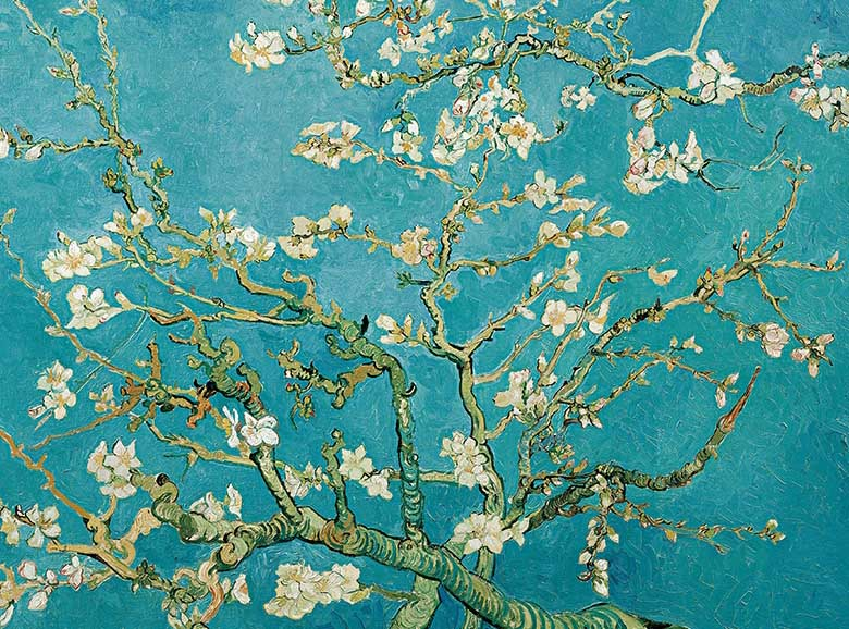 Almond Blossom Spring Jigsaw Puzzle