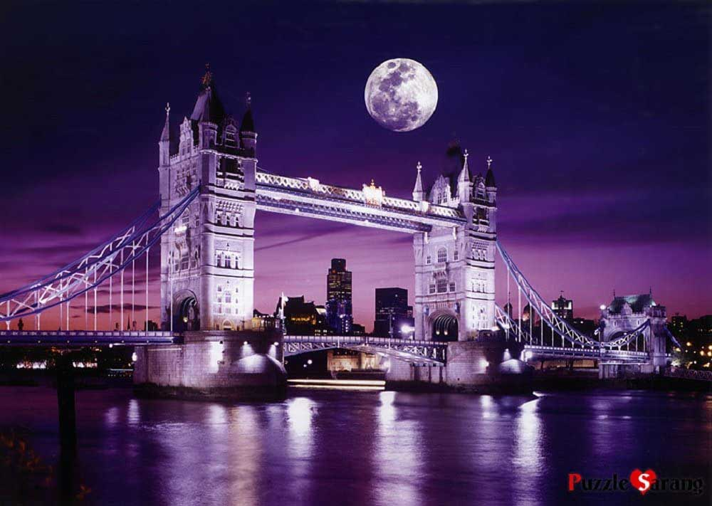 London Tower Bridge Travel Jigsaw Puzzle