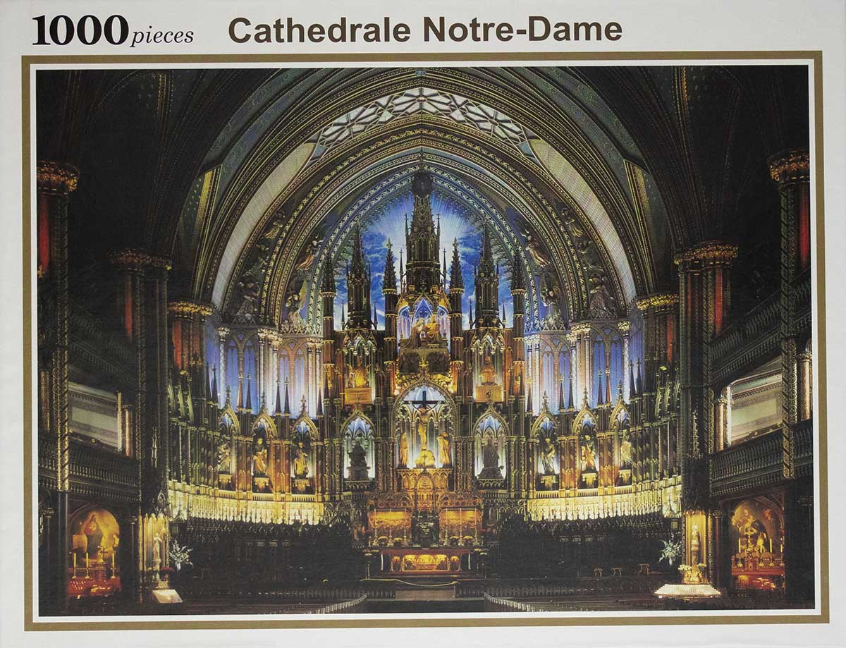 Notre Dame Cathedral Landmarks / Monuments Jigsaw Puzzle