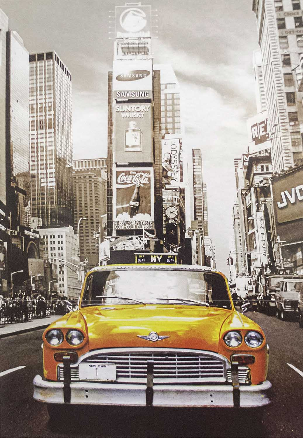 Times Square Street Scene Jigsaw Puzzle
