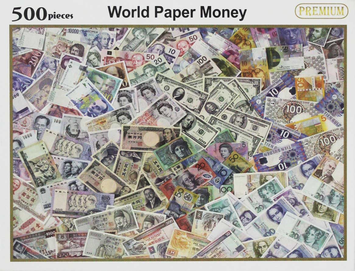 Paper Money Travel Jigsaw Puzzle