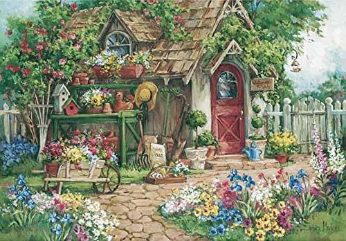 Flower Garden Flowers Jigsaw Puzzle