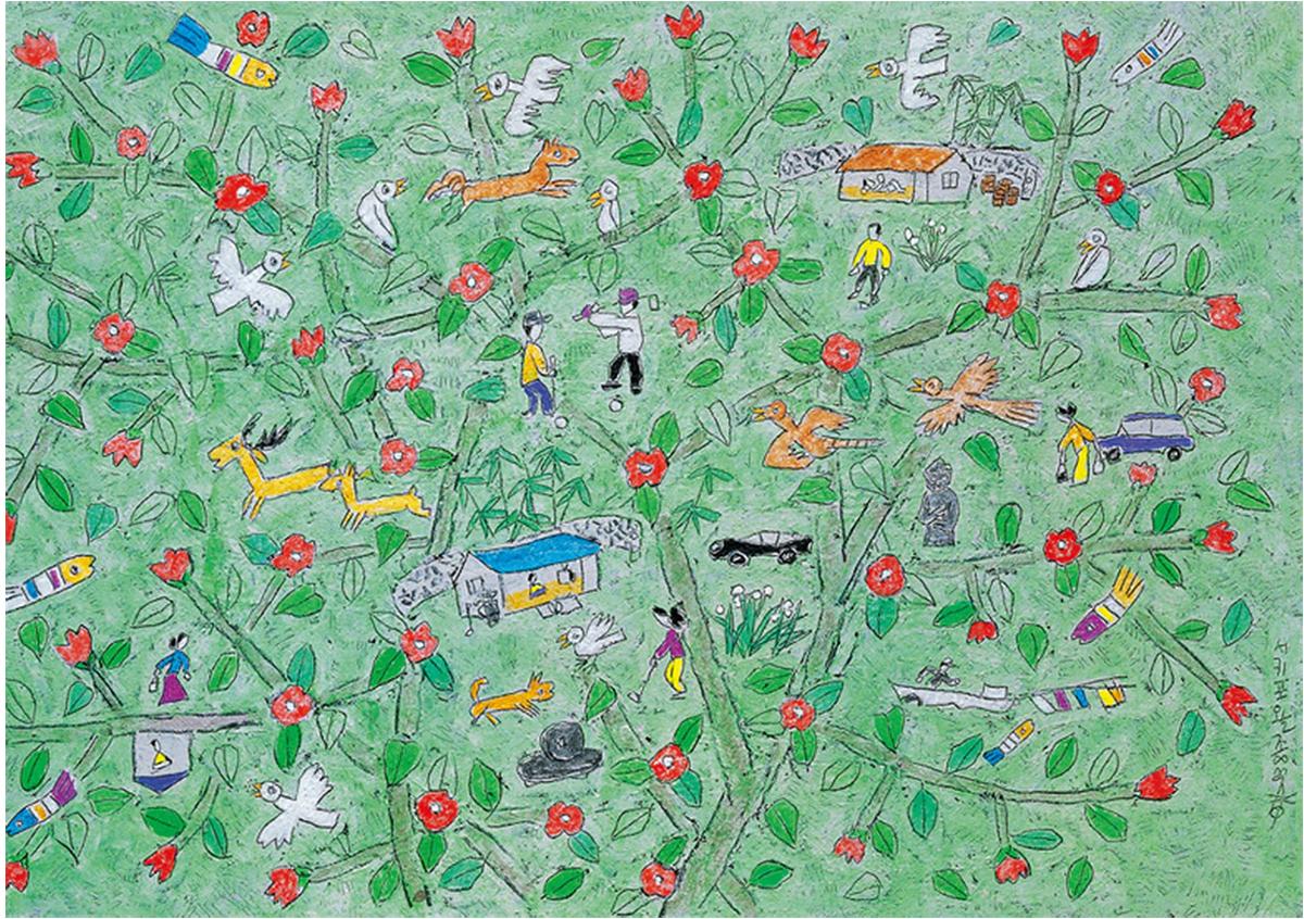 Jeju Life Flowers Jigsaw Puzzle