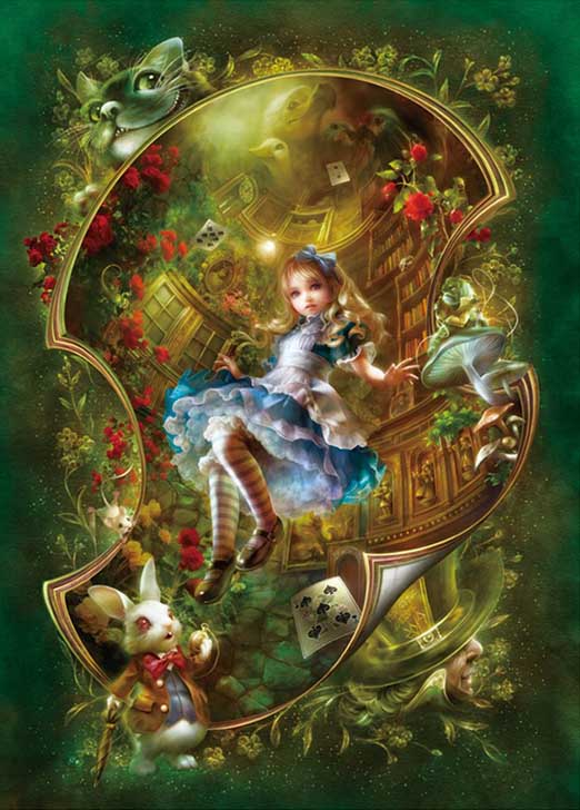 Alice's Adventure Fantasy Jigsaw Puzzle