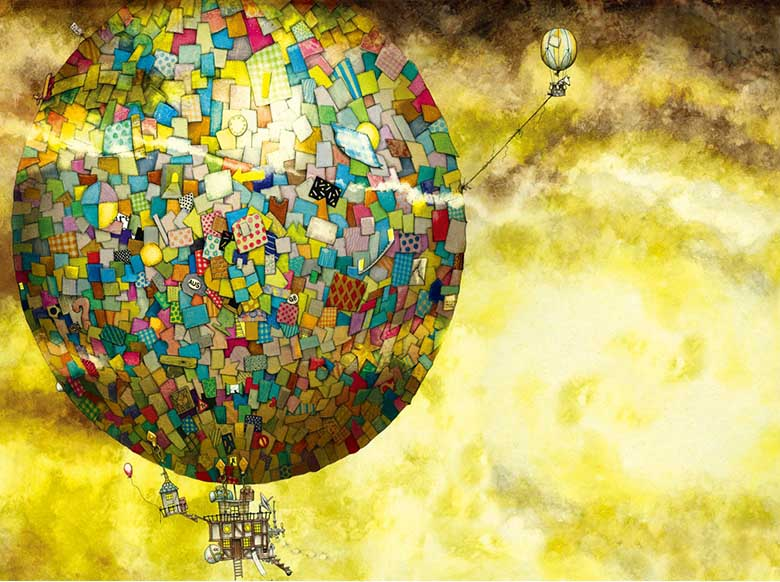 Up, Up, And Away Fantasy Jigsaw Puzzle