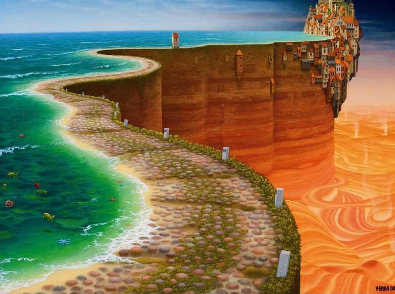 Ultima Thule Fantasy Jigsaw Puzzle
