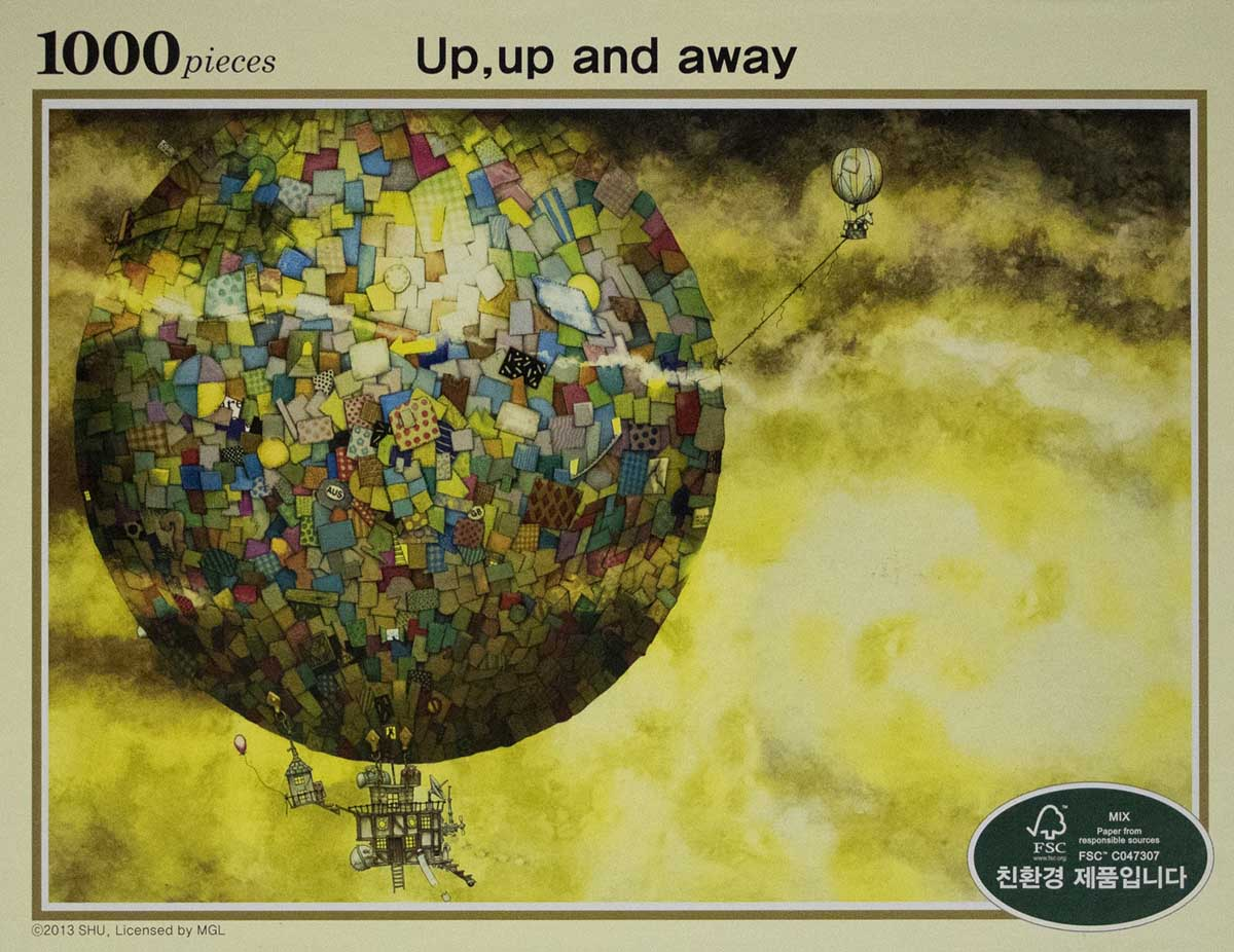 Up Up And Away Fantasy Jigsaw Puzzle