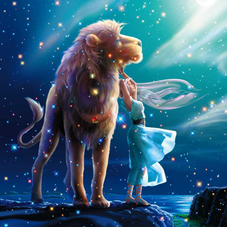 Leo Space Jigsaw Puzzle