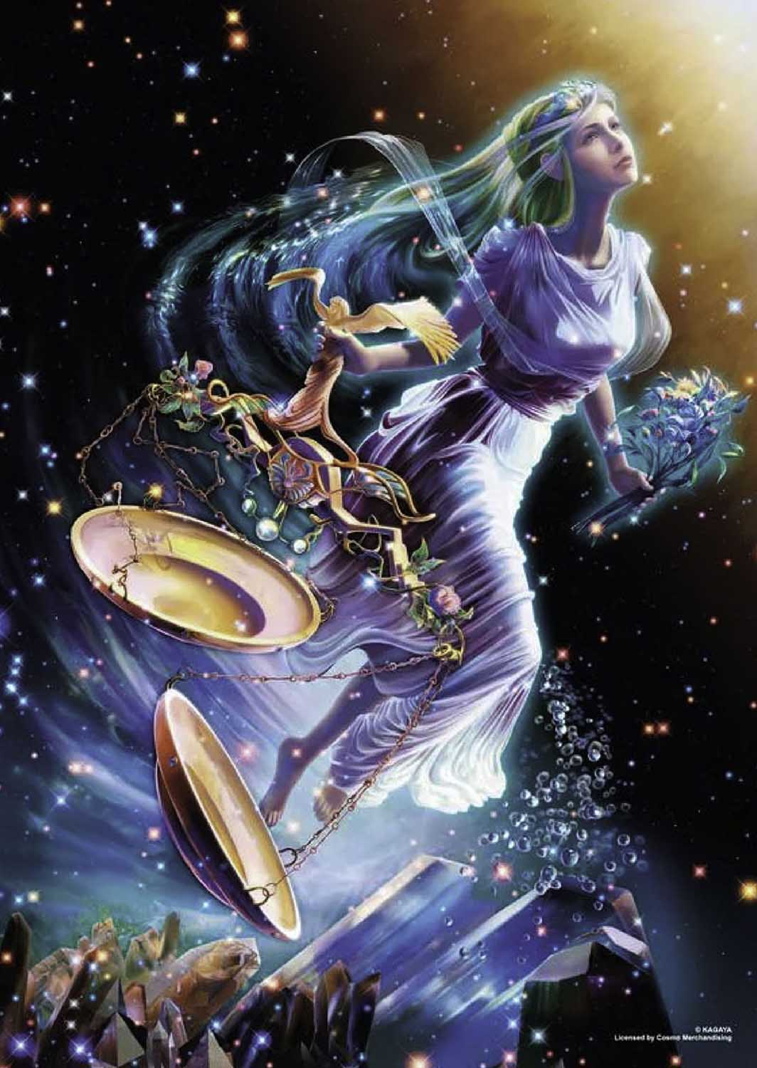 Libra Space Jigsaw Puzzle
