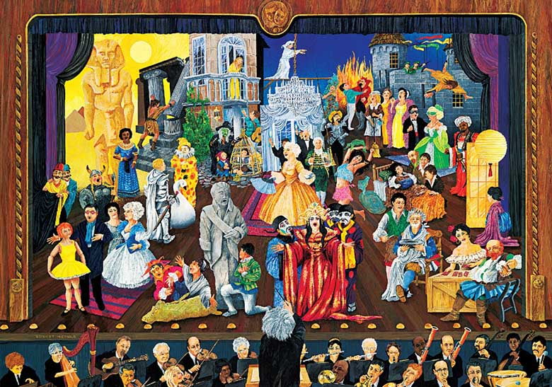 The Great Operas Fine Art Jigsaw Puzzle