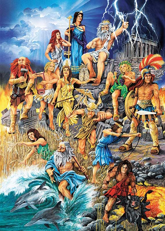 The Great Gods Fantasy Jigsaw Puzzle
