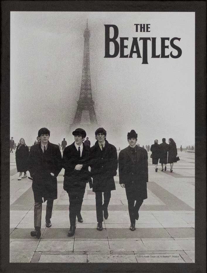 The Beatles In Paris Famous People Jigsaw Puzzle