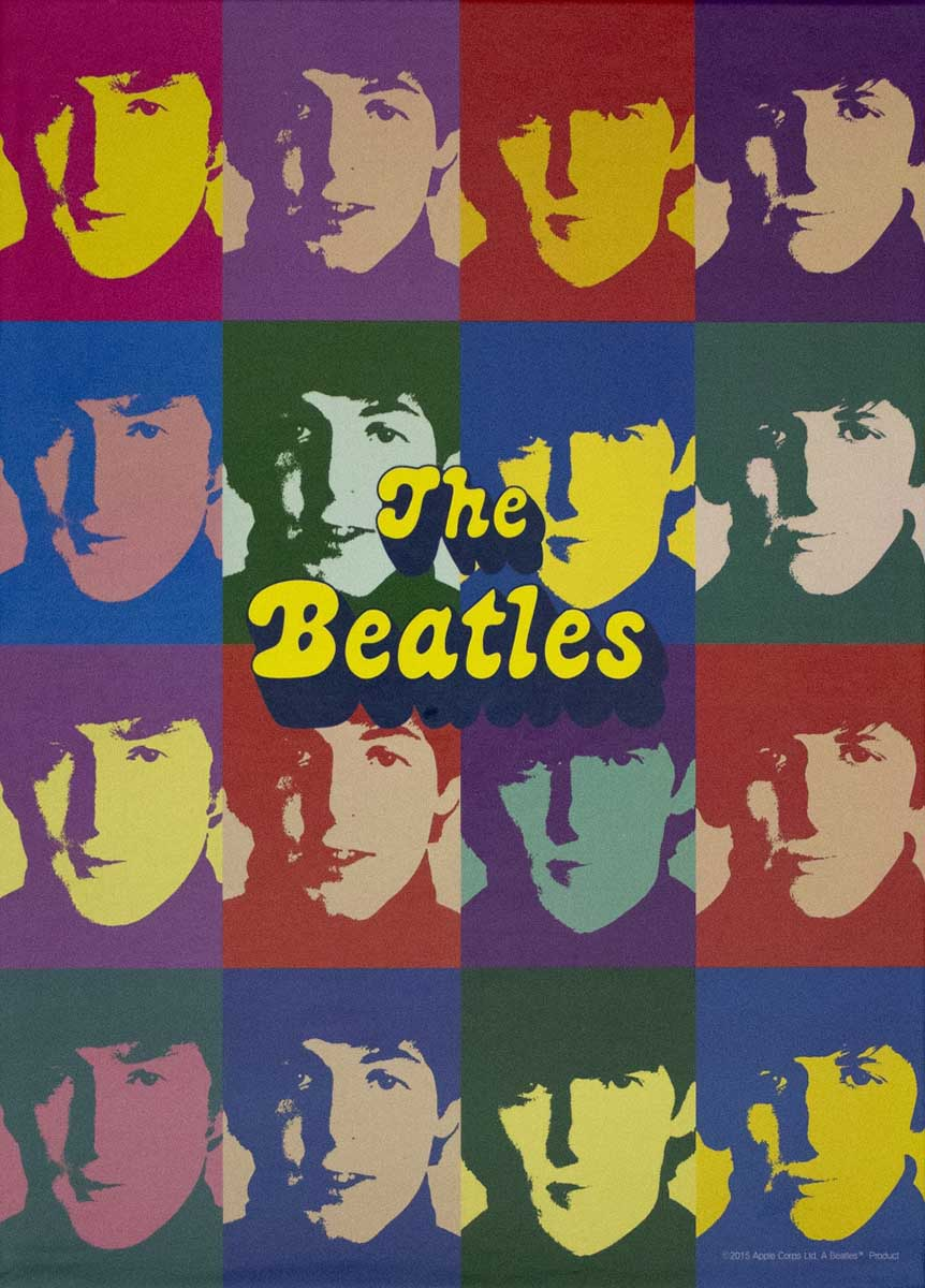 The Beatles The Pop Famous People Jigsaw Puzzle