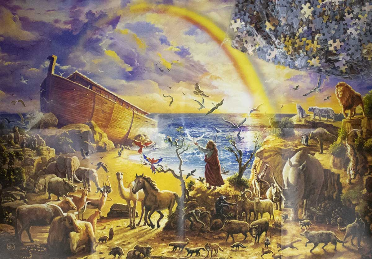 Noah'S Ark Ii Animals Jigsaw Puzzle