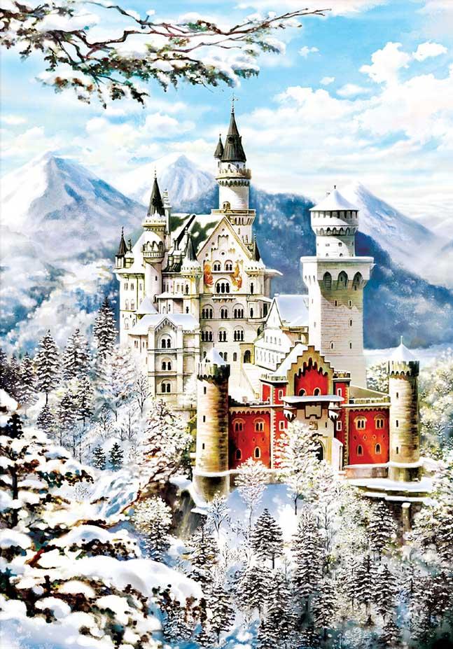 Neuschwanstein Castles Jigsaw Puzzle