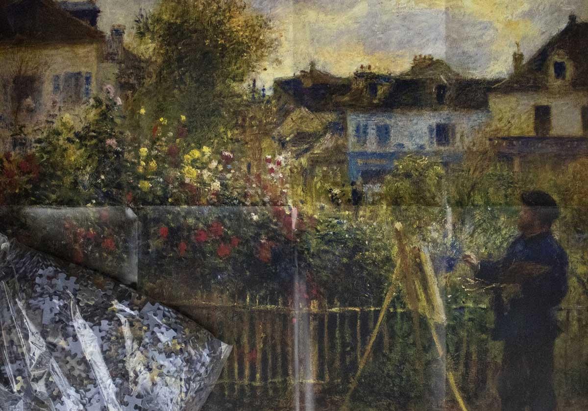 Monet Garden Fine Art Jigsaw Puzzle