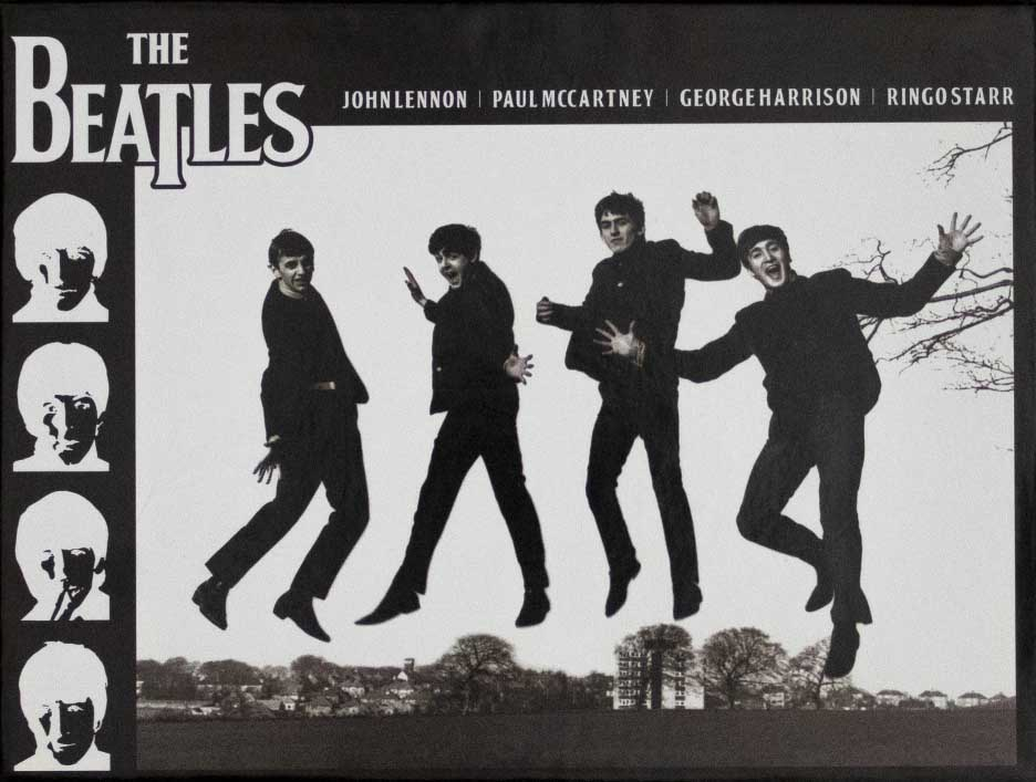 The Beatles Jump Famous People Jigsaw Puzzle
