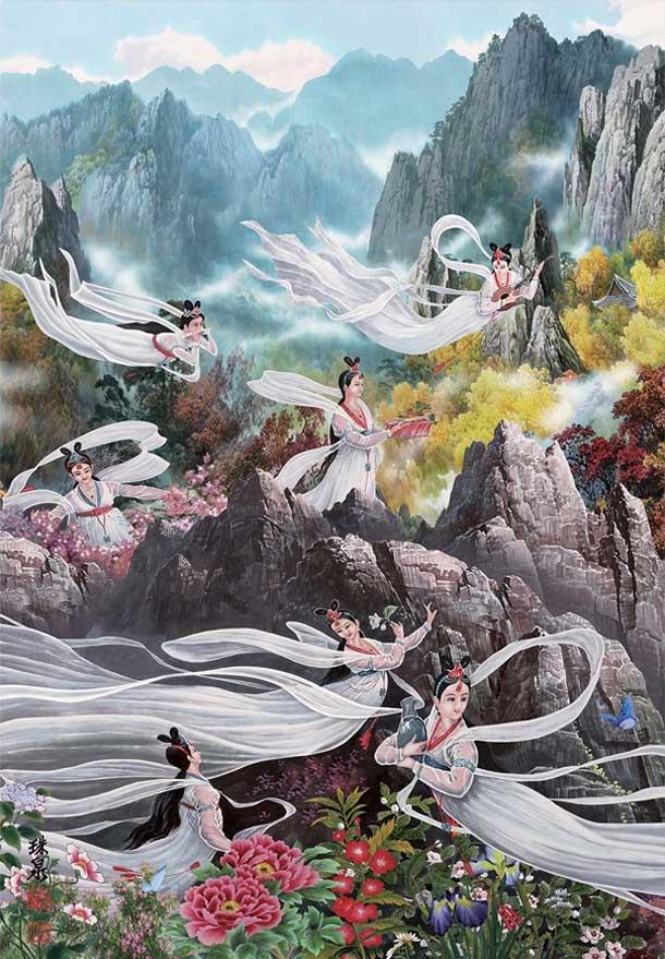 Fairy Women Fairies Jigsaw Puzzle