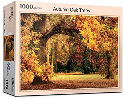 Autumn Oak Tree Fall Jigsaw Puzzle