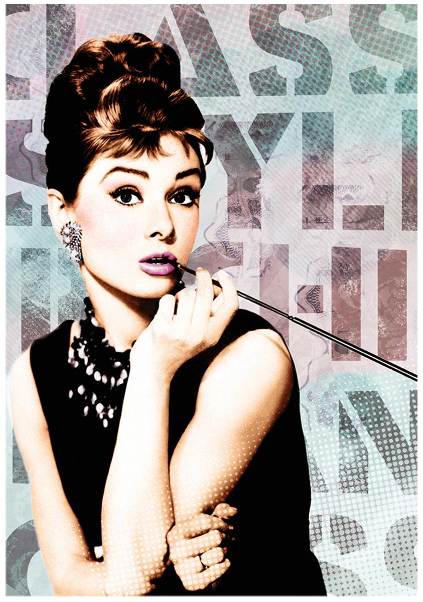 Audrey Hepburn 1 Famous People Jigsaw Puzzle