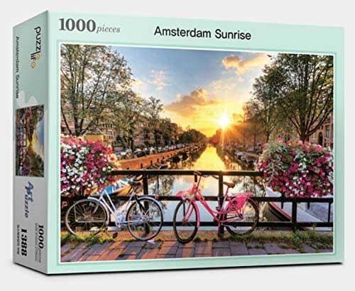 Amsterdam Sunrise Morning Travel Jigsaw Puzzle