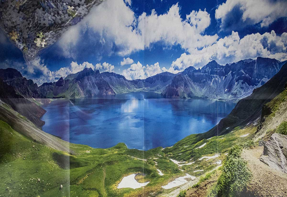 Baekdu Mountain Mountains Jigsaw Puzzle