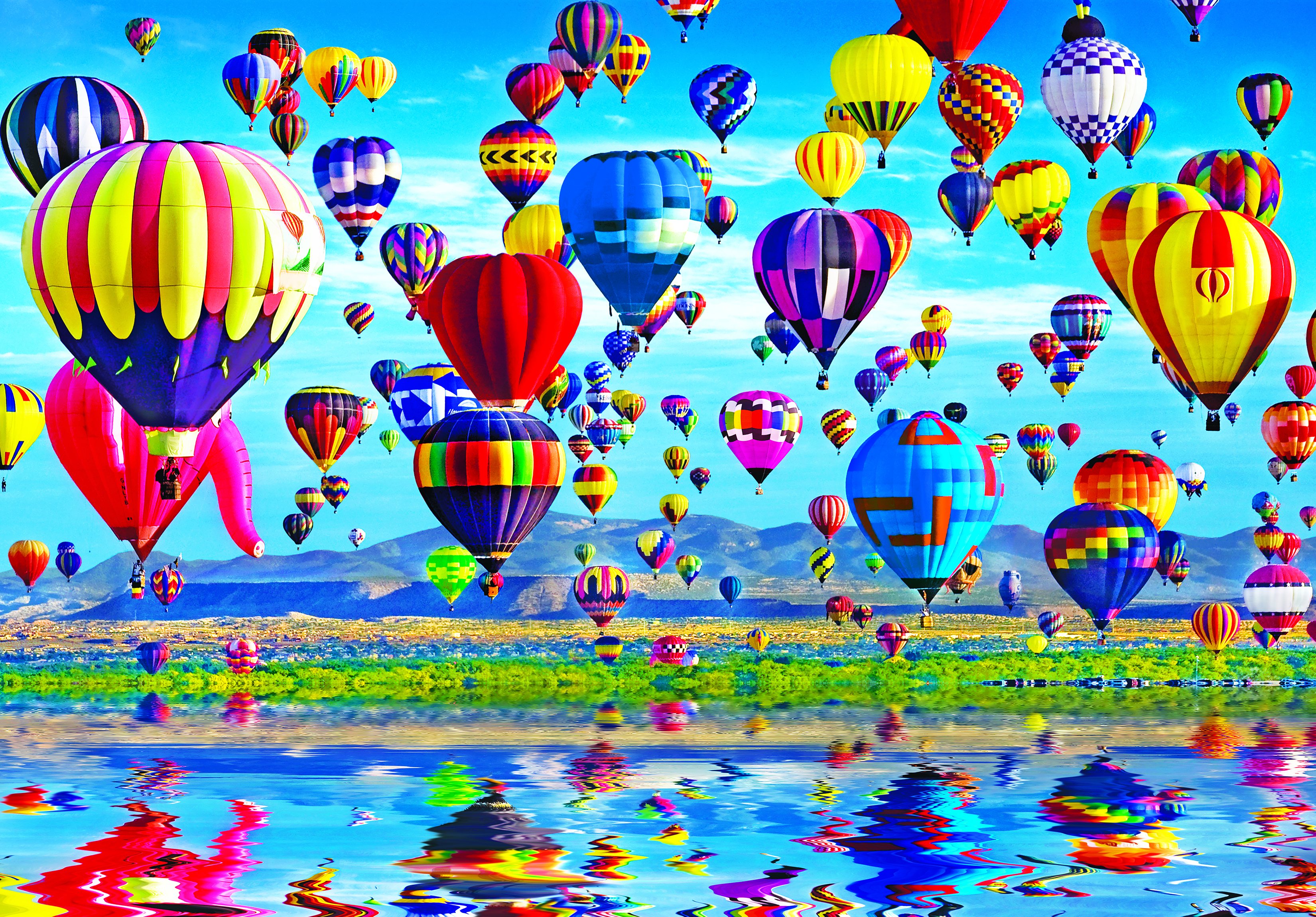 Balloon Reflections Balloons Jigsaw Puzzle