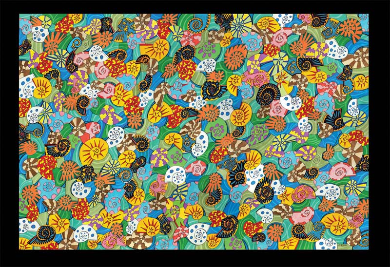 Alex Beard - Nautilus Abstract Jigsaw Puzzle