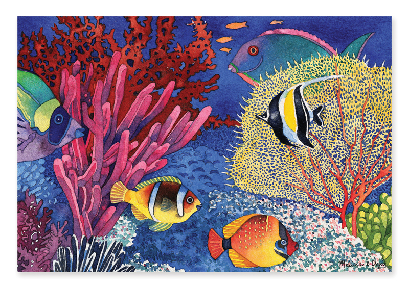 Coral Reef - Scratch and Dent Under The Sea Jigsaw Puzzle