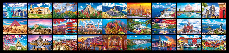27 Wonders from Around the World - 51,300PC Puzzle by KODAK Premium Travel Jigsaw Puzzle