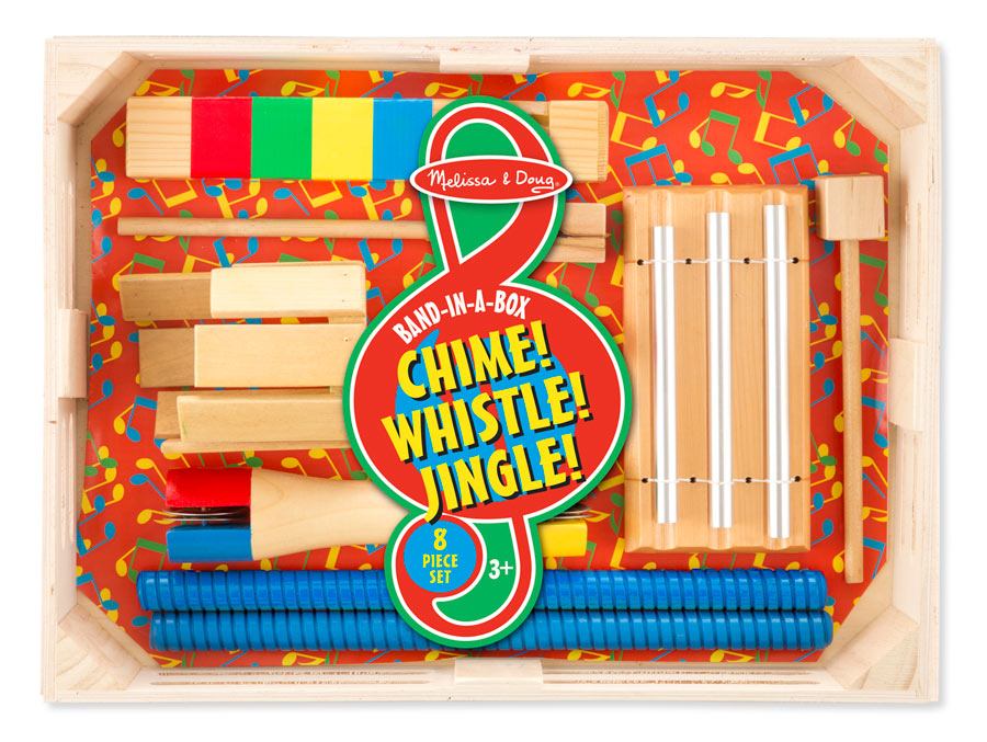Band-in-a-Box Chime! Whistle! Jingle!